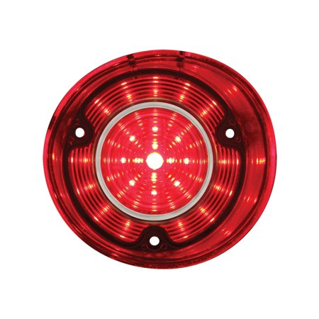 1972 Chevelle SS & Malibu 42 Red LED Tail Light - (Chevelle Tail Lens)