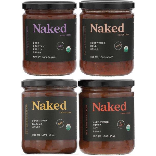 Amazon.com: Naked Infusions Salsa - Oaxaca White Chocolate