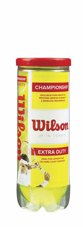 Wilson Championship Extra-Duty Tennis Balls by Wilson Sporting Goods