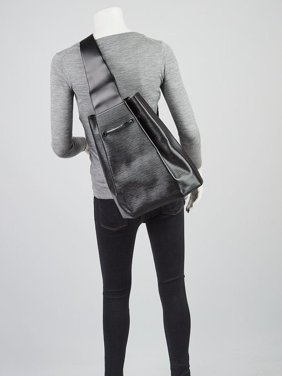 a4156ffcb6 Product Image Noir Sac A Dos Sling 868723 Black Leather Backpack. Louis  Vuitton