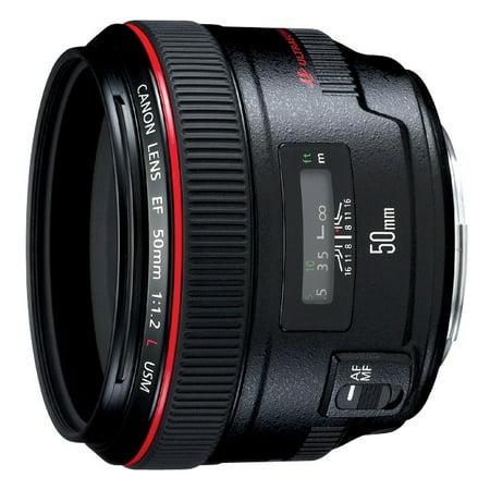 Canon Ef 50mm F / 1.2l Usm Normal Lens - F/1.2