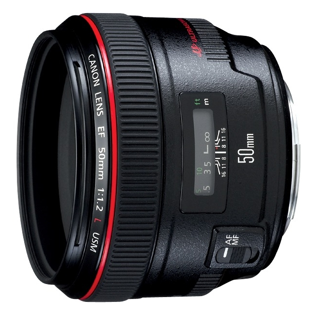 Canon Ef 50mm F / 1.2l Usm Normal Lens - F/1.2 (1257b002aa)