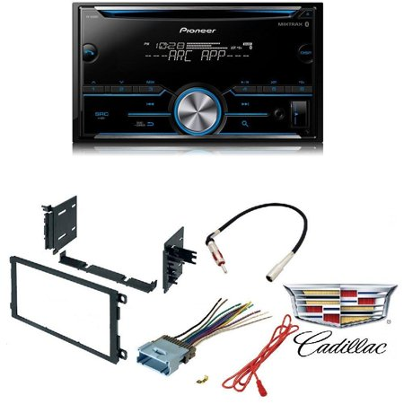 Pioneer FH-S500BT Double DIN Bluetooth In-Dash CD/AM/FM Car Stereo Receiver w/ Pandora CAR RADIO STEREO CD PLAYER DASH KIT BUICK CADILLAC CHEVROLET GMC HUMMER ISUZU OLDSMOBILE PONTIAC