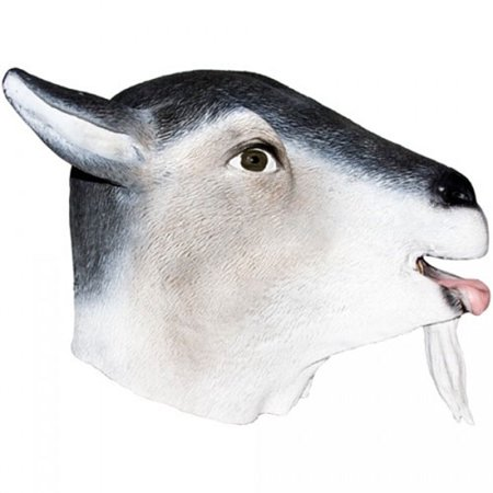 Goat Farm Animal Adult Halloween Mask Accessory