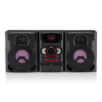 Refurbished Blackweb BWD19AAA06 100-Watt Bluetooth CD Stereo System