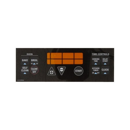 lock Plate-Black (Ge Range Electronic Clock)