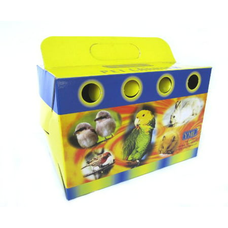 YML 8101 Cardboard Carrier for Small Animals or Birds, Small, Lot of 100](Cardboard Animals)