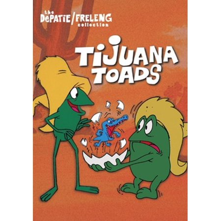 Tijuana Toads (DVD) (Texas Toads Cartoon)