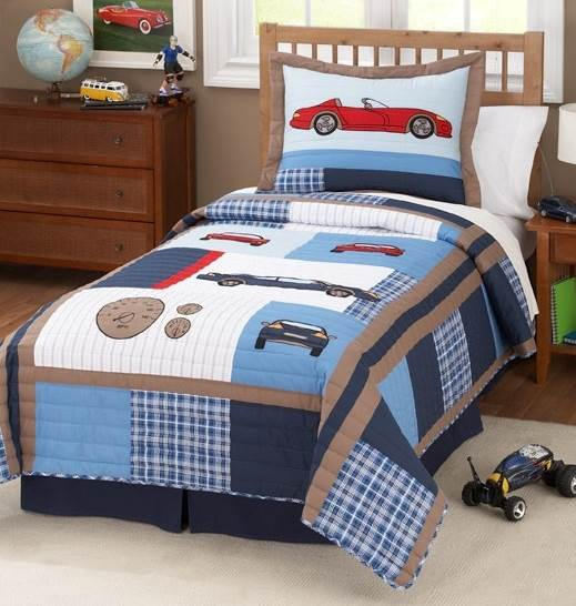Cars Quilt Set (Full/Queen)