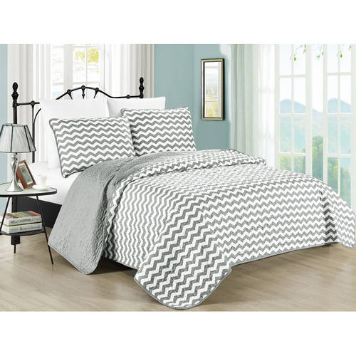South Bay Zig Zag Stripe Bedding Quilt Set