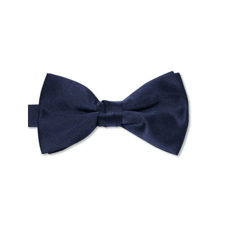 Avery Hill Boys Deluxe Satin Bow Tie Tuxedo](Thin Red Tie)