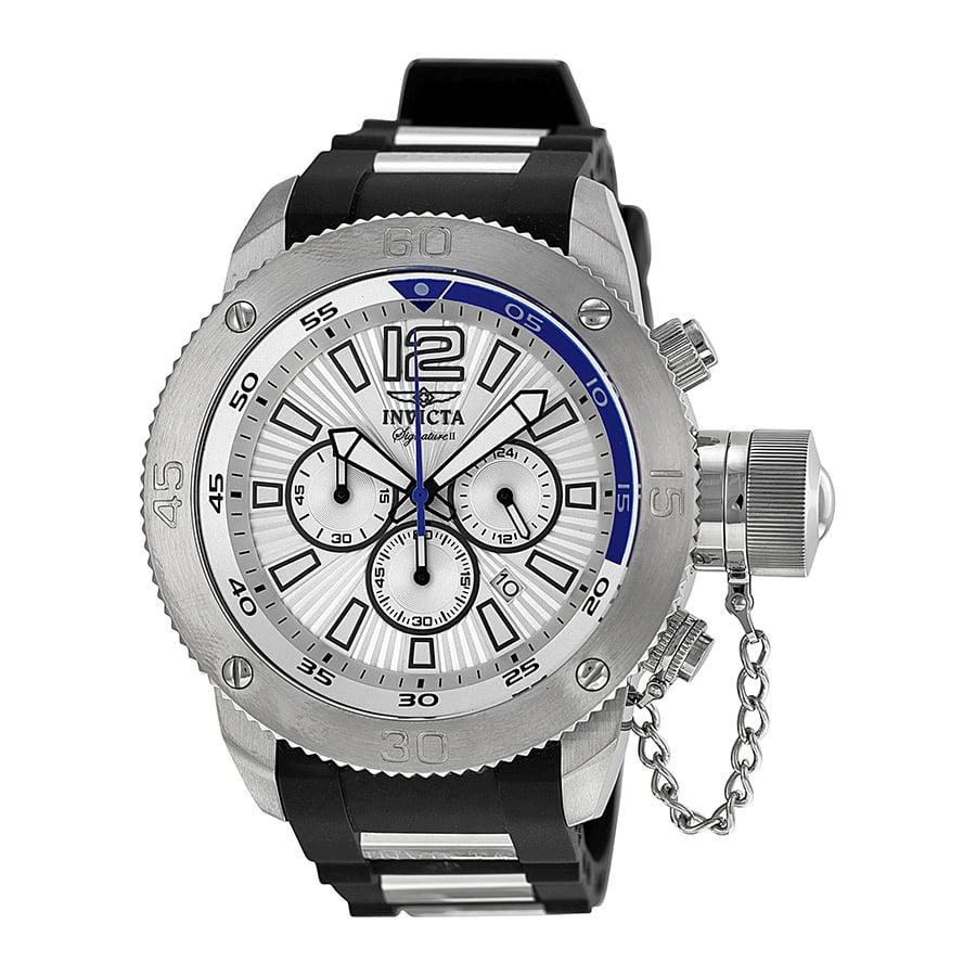 invicta signature ii russian diver chronograph mens