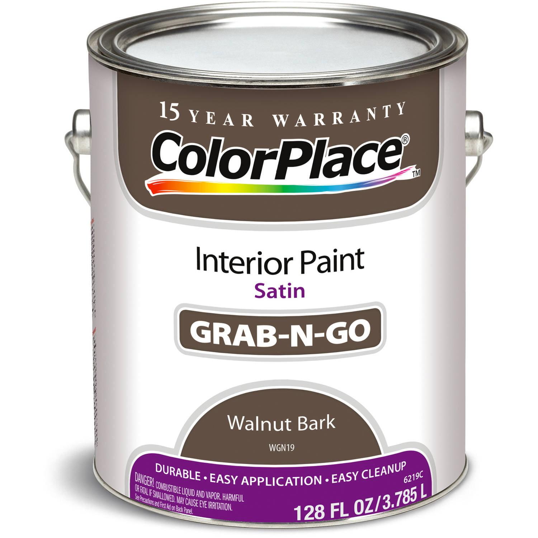 Colorplace Walnut Bark St Interior Paint, 1-Gallon - Walmart.com
