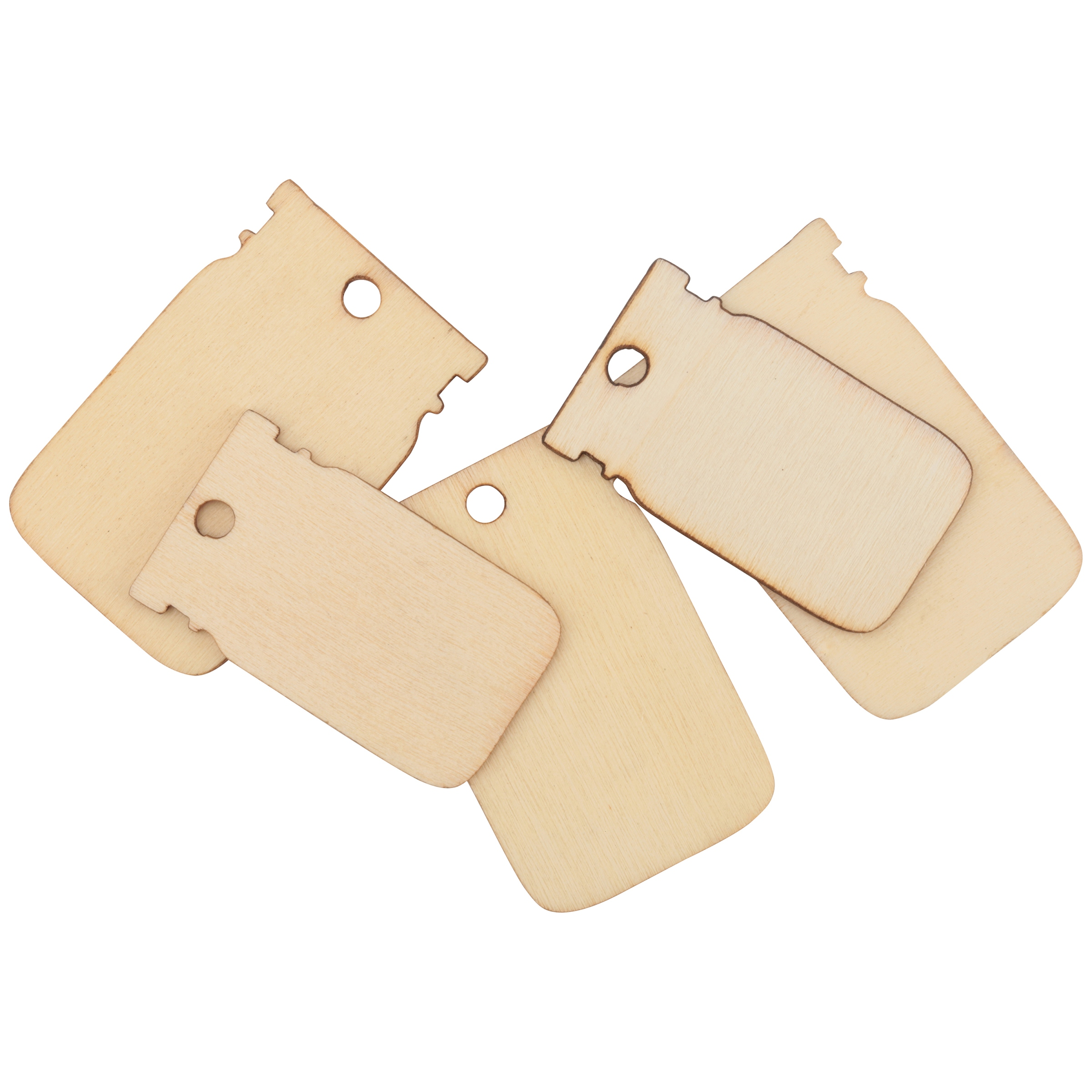 Lowe Cornell® Transform Mason™ Wooden Tags 12 ct Pack
