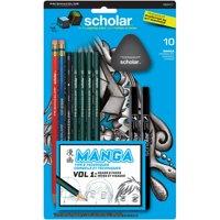 Prismacolor Scholar Manga Drawing Set, 10-Piece Kit