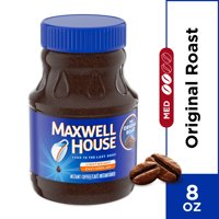 Maxwell House Original Roast Ground Instant Coffee, Caffeinated, 8 oz Jar