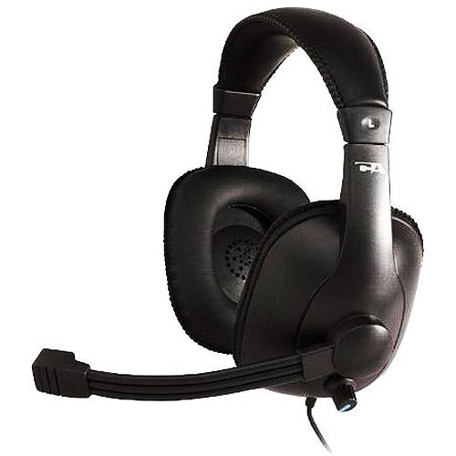 Cyber Acoustics Educational Series Stereo Headset with Boom Mic, AC-960