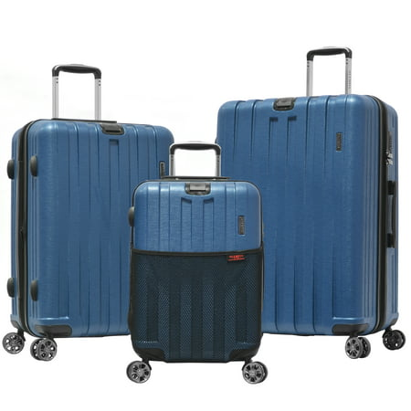 Sidewinder 3-Piece Spinner Set W/Hidden (Olympia Usa Sequence Spinner Luggage Set Reviews)
