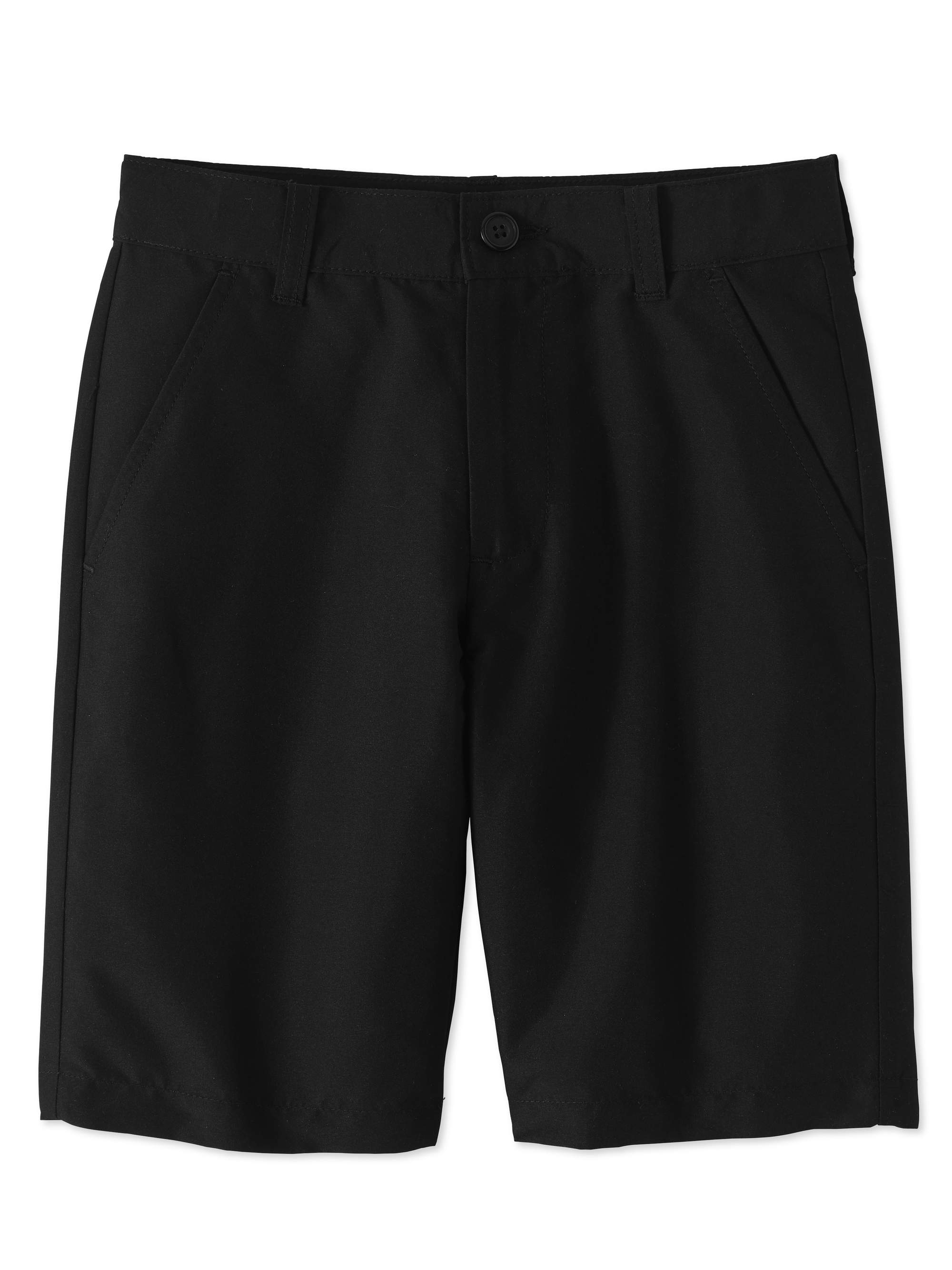 Boys Husky School Uniform Performance Shorts