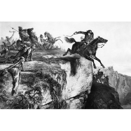 Samuel Mccolloch  1752 1782  Namerican Frontiersman And Soldier After Making A Relief Expedition To The Besieged Fort Henry Virginia  Present Day Wheeling West Virginia  Major Mccolloch Escapes From P