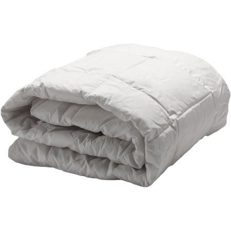AllerEase Hot Water Washable Down Alternative Comforter-White (King)