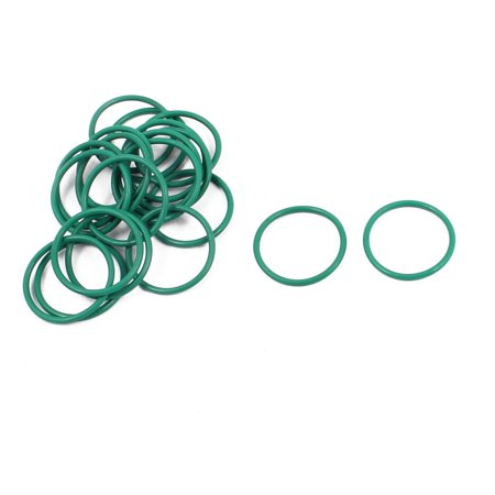 20Pcs 14mm x 1mm FKM Fluoro Rubber O-rings Heat Resistant Sealing Ring (Fluro Rubber)