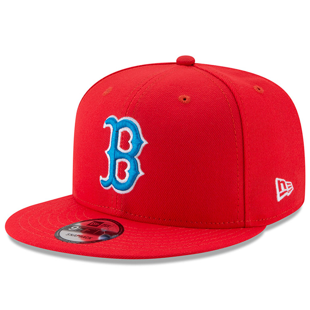 Boston Red Sox New Era 2017 Players Weekend 9FIFTY Snapback Hat - Red - OSFA