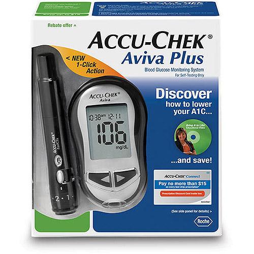 Image of Accu-Chek Aviva Diabetes Blood Glucose Monitoring System