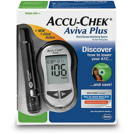 Accu Chek Aviva Diabetes Blood Glucose Monitoring System