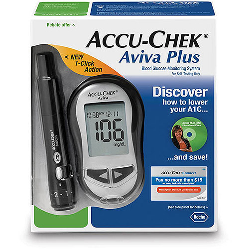 ACCU-CHEK Aviva Diabetes Blood Glucose Monitoring Care Kit