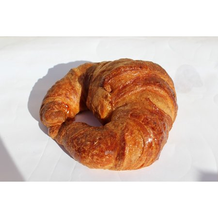 Croissant Halloween Food (LAMINATED POSTER Croissant Pastry Shiny Food Poster Print 24 x)