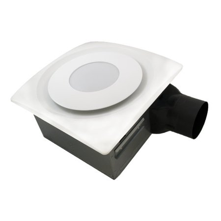Aero Pure SlimFit 90 CFM Bathroom Fan with Light