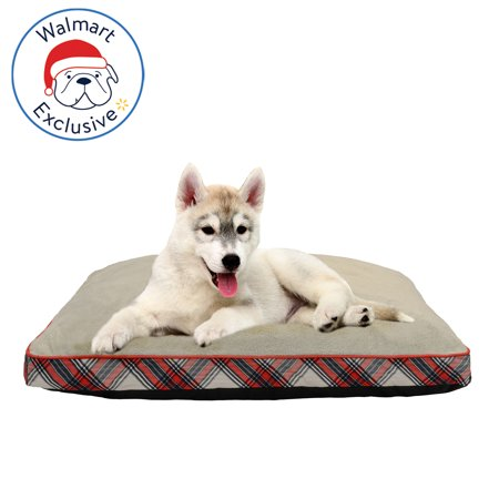 """Holiday Time Gusseted Pet Bed X-Large 32""""x 42"""" Now $9.91"""