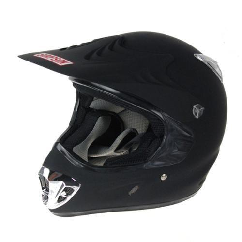Simpson Horizon Motorcycle Helmet Small Matte Black New