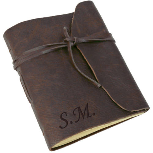 Personalized Genuine Leather-Bound Journal