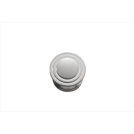 Hickory Hardware P3102-SN 1.06 In. Deco Satin Nickel Cabinet Knob Art Deco Cabinet Knobs