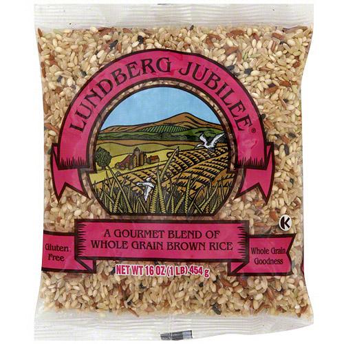 Lundberg Jubilee Gourmet Natural Brown Rice, 16 oz (Pack of 6)