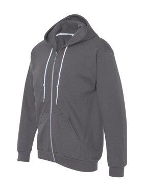 00e684fb2b3cce Gray Mens Zip-up Sweatshirts   Hoodies - Walmart.com