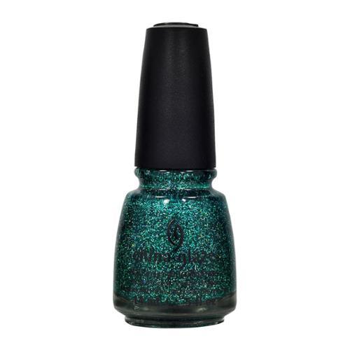 China Glaze 0.5oz Nail Polish Lacquer Clay Green, ATLANTIS, 80406