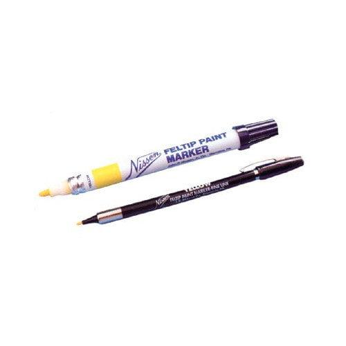 Nissen Feltip Paint Markers - feltip fineline paint marker white