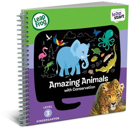 Leapfrog Leapstart Kindergarten Activity Book  Amazing Animals And Conservation