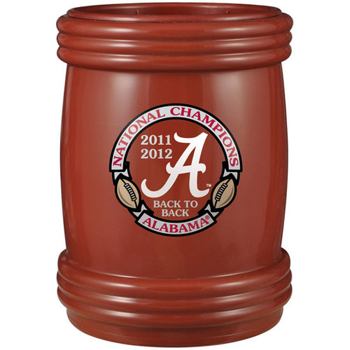 "NCAA - Alabama Crimson Tide 2012 BCS National Champions ""Back to Back"" Red Magnetic Can Cooler"