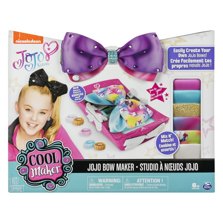 Cool Maker - JoJo Siwa Bow Maker with Rainbow and Unicorn Patterns, for Ages 6 and Up (Edition May Vary) (Toys For Girls Age 7)