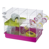 Ferplast Laura Hamster Cage, Pink