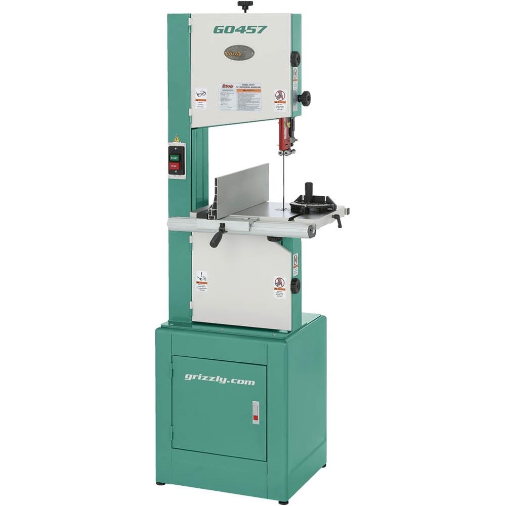 "Grizzly G0457 14"" 2 HP Deluxe Bandsaw by"