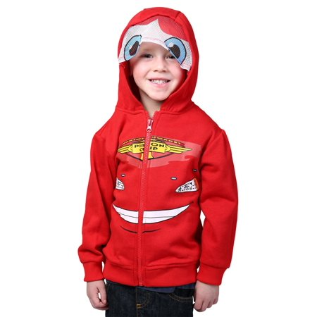 Cars Lightning McQueen Toddler Costume Hoodie - Lightening Mcqueen Costume