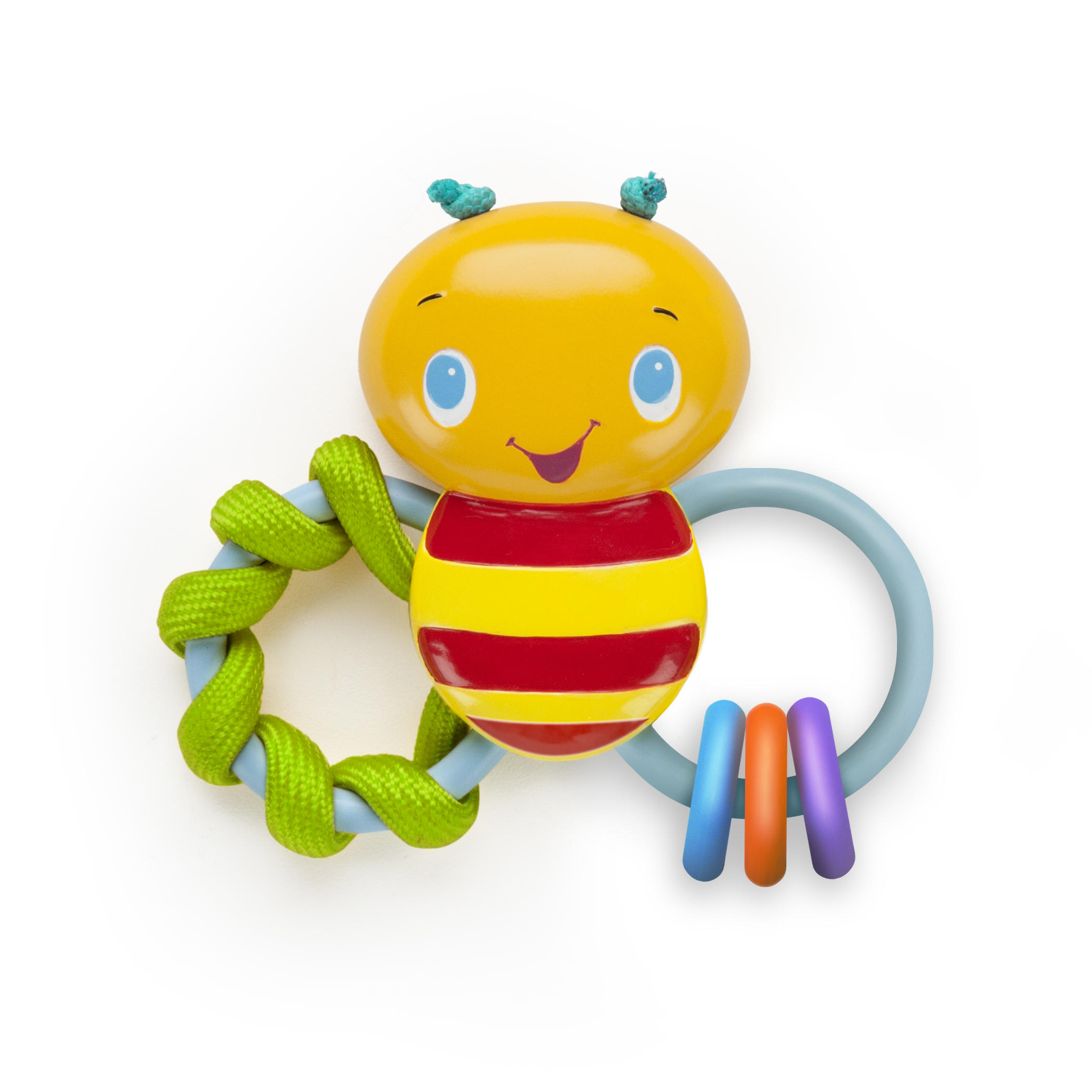 Bright Starts Chew & Rattle Bee Teething Toy