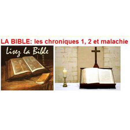 Halloween Et La Bible (LA BIBLE: les chroniques 1, 2 et malachie -)