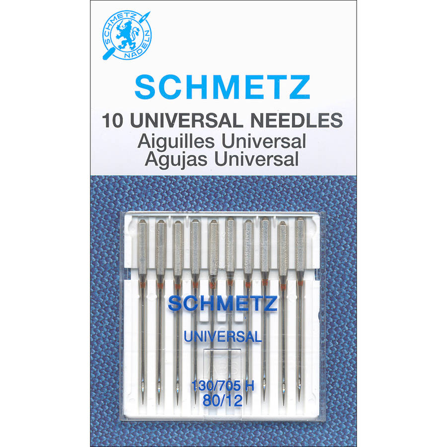 Universal Machine Needles, Size 80/12, 10pk