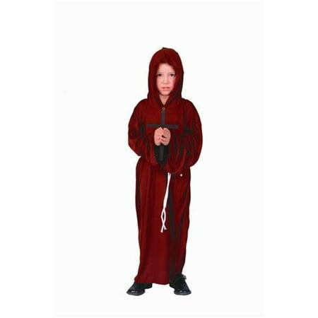 Monk Costume - Size Child-Medium - Monk Costume